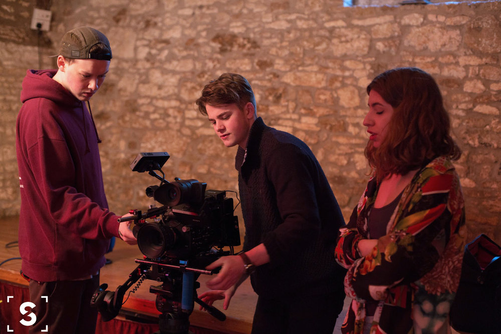 Camera Crew: Ollie H-Smith, Joss Gibbs and Candela Martos Clemente