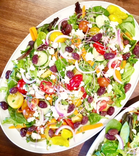 GREEK CHOPPED SALAD -
