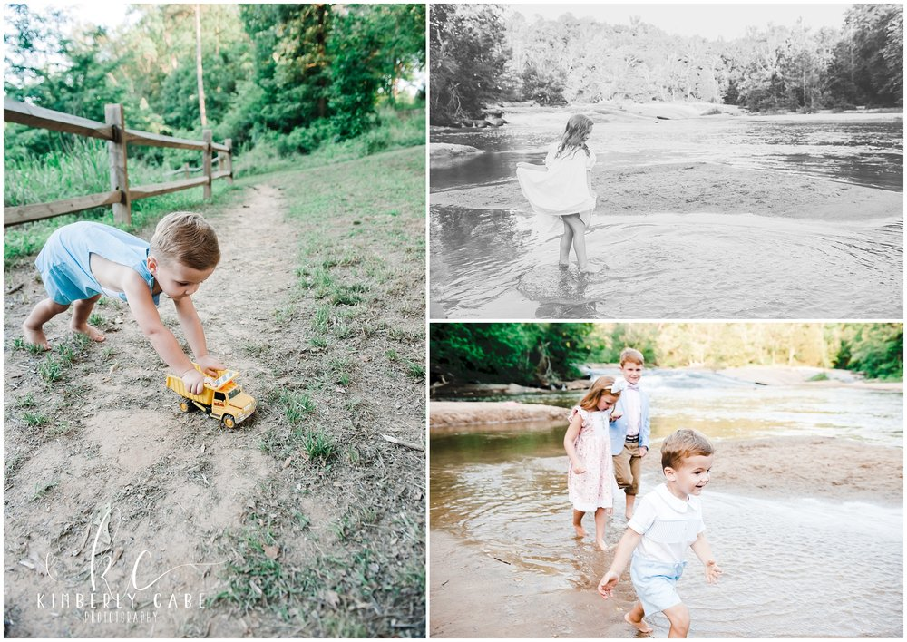 candid family photographer greenville sc