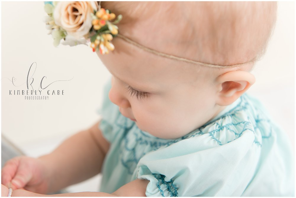 Greenville SC baby photographer