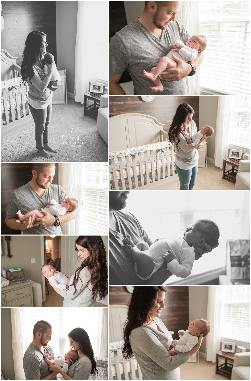 lifestyle newborn session Greenville sc