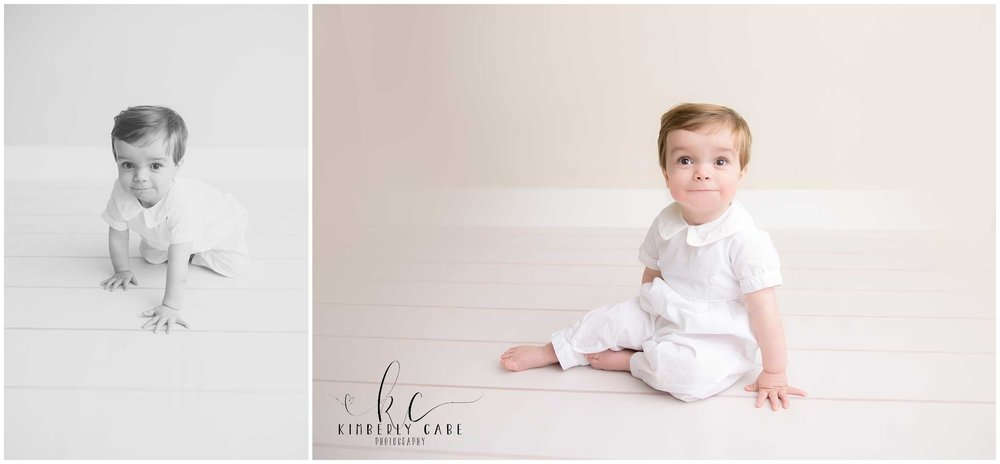 Greenville first birthday photography session