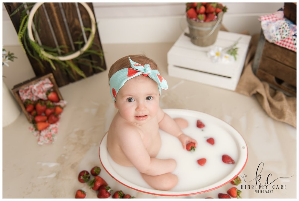 Greenville baby milk bath