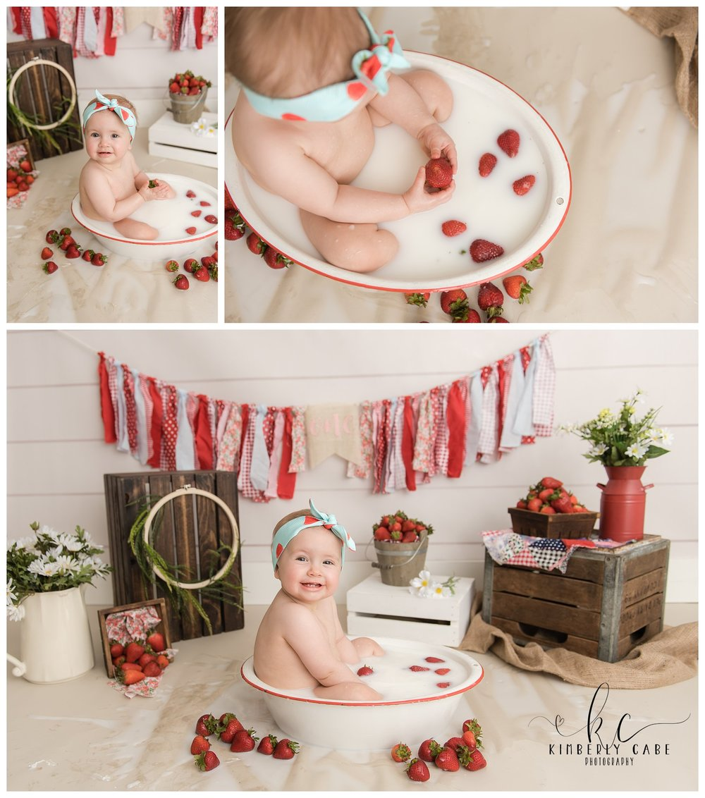 Greenville one year session milk bath