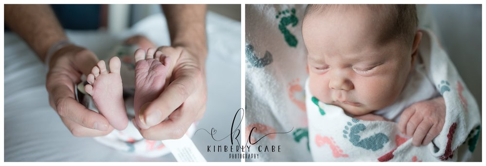 Greenville South Carolina hospital newborn session
