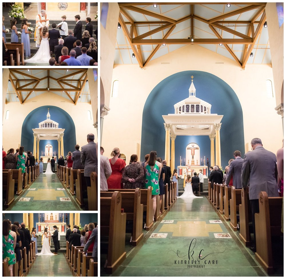 Our Lady of the Rosary Wedding Greenville SC