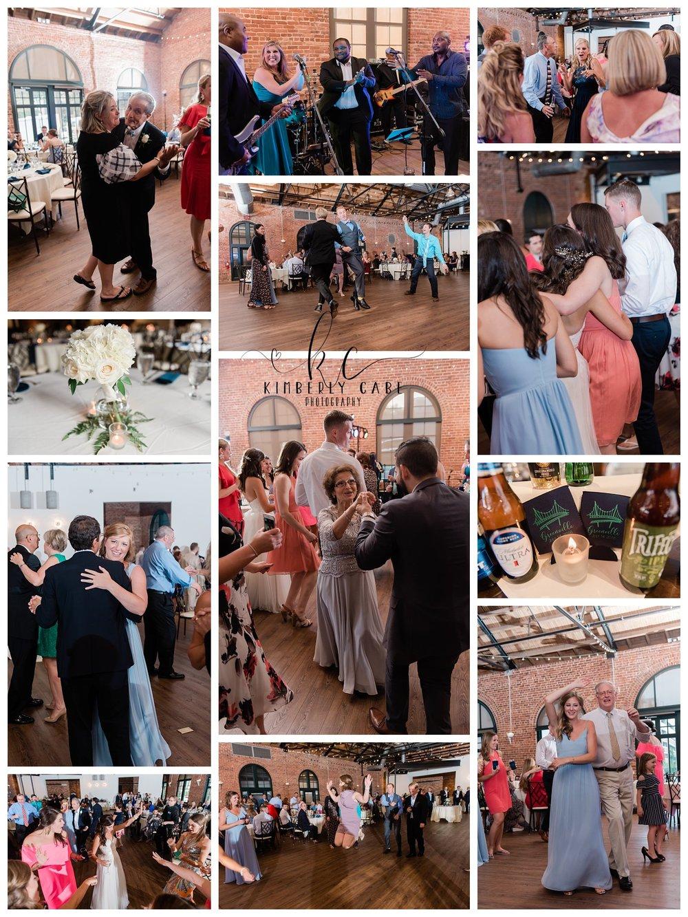 Reception Dancing Java Band Greenville, SC