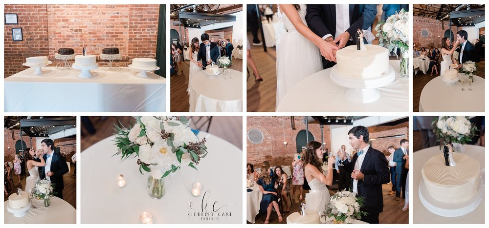 Brick Street wedding cake Greenville SC