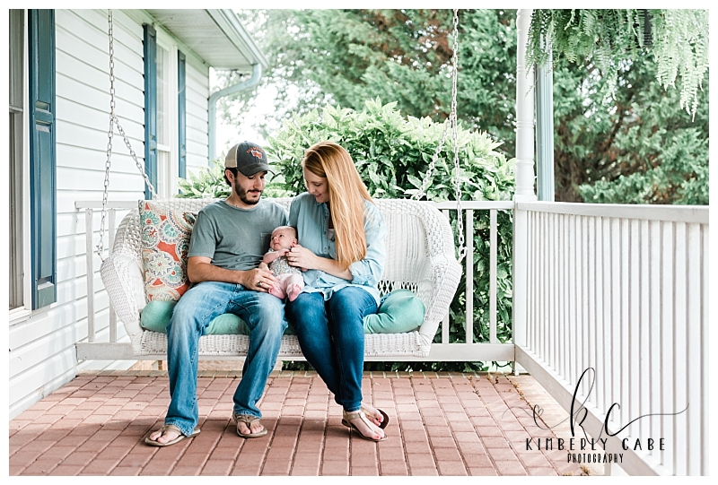 Greenville SC in home Newborn Photographer