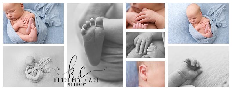 Greenville SC studio newborn session