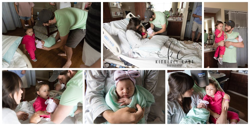 Greenville SC Fresh48 Hospital Newborn Session