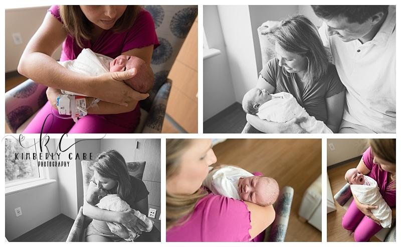 Greenville SC newborn session