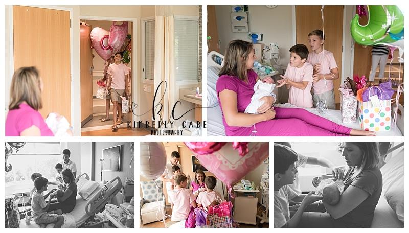 Greenville SC hospital  newborn session