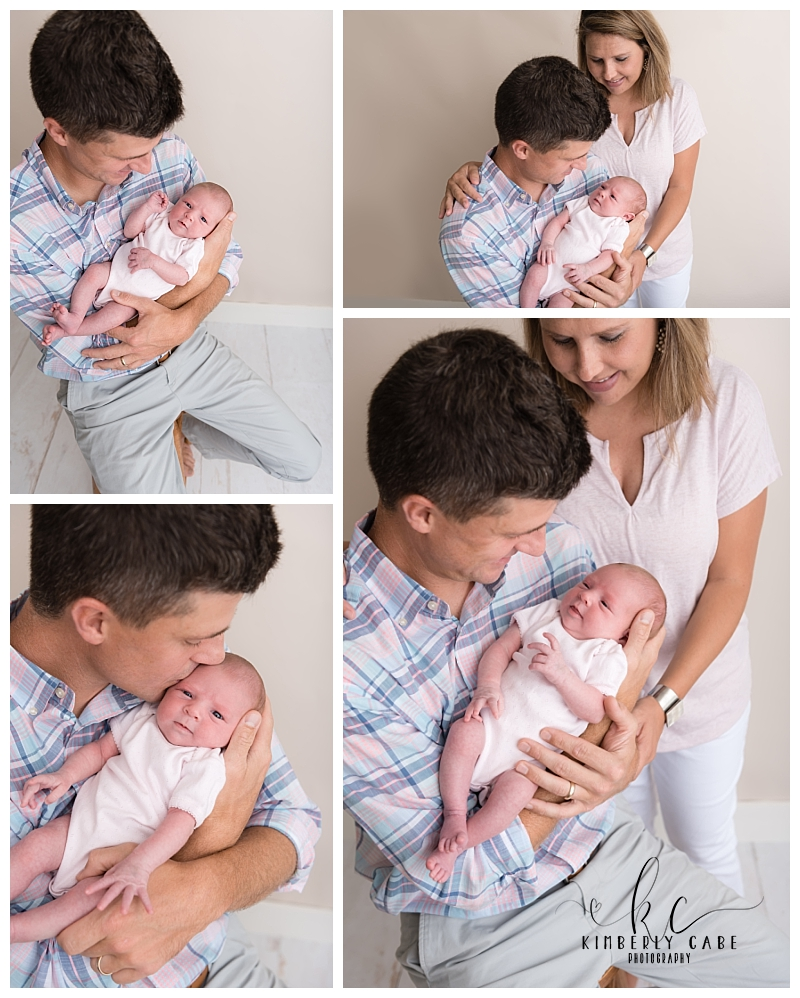 Greenville SC studio newborn photographer