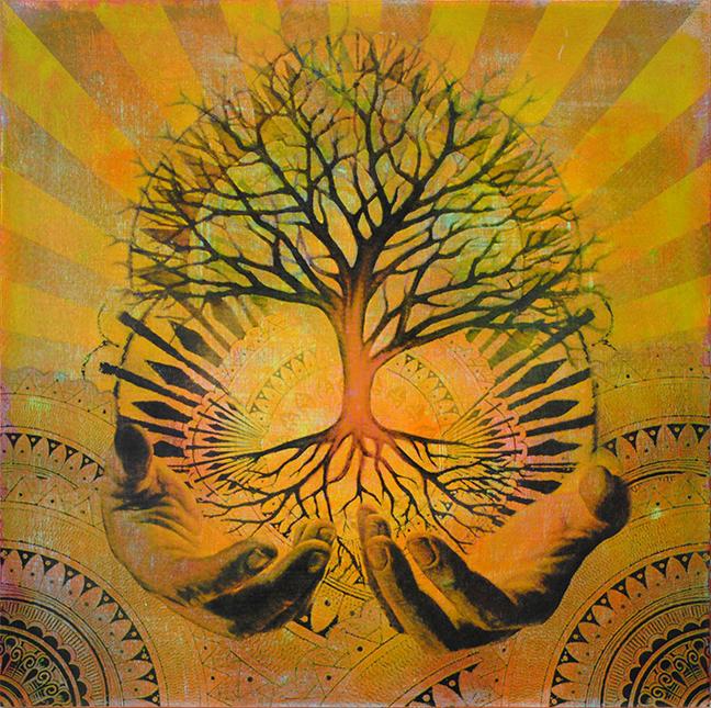 'Arbor Vitae' (Goldenrod) - £700