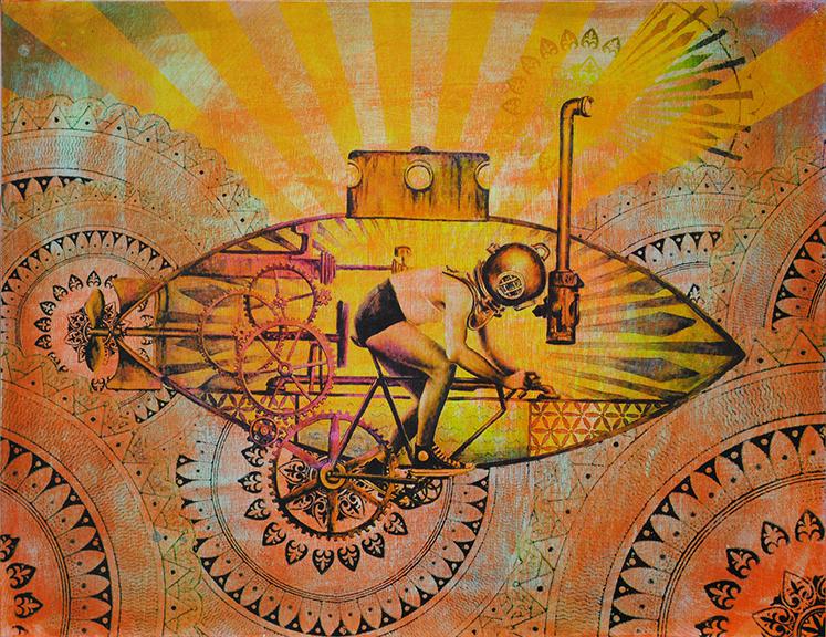 'Submariner' (Tangerine) - £700