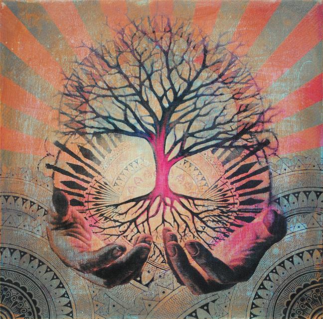 'Arbor Vitae' (Muted) - £700