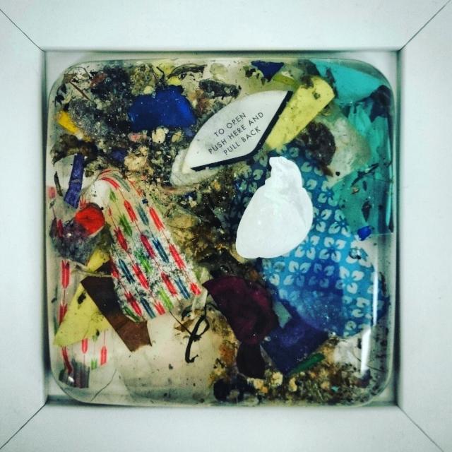 'Onyx Dear Foetus Heart' - £170