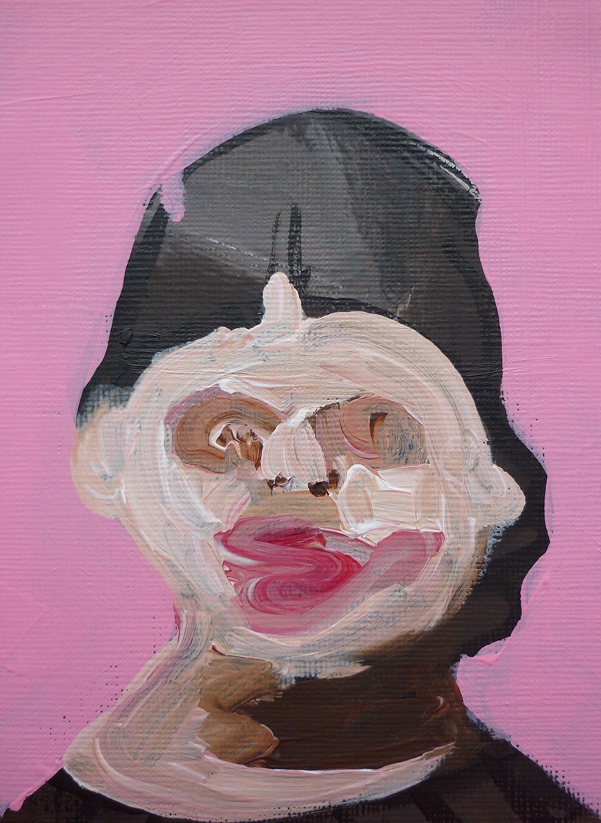 'Lady Face Pink 03'