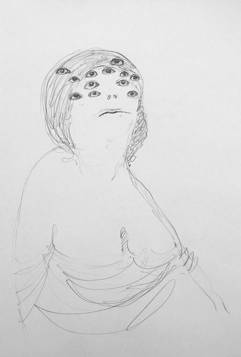 'Drawn Lady 02'