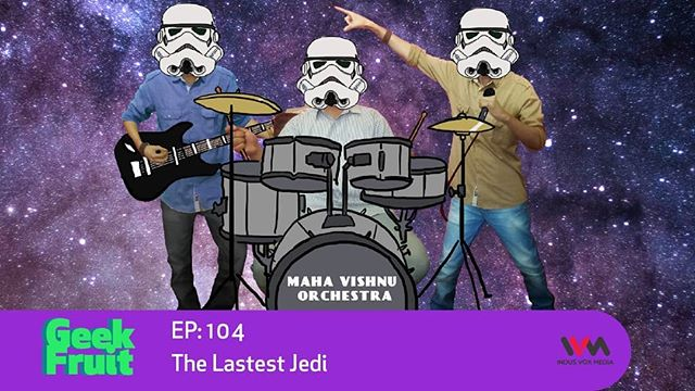 Our first episode of the year is out and its a biggie.  The Last Jedi takes the Star Wars franchise in brand new directions, and not everyone is a fan. Are they right though? And why is The Last Jedi like the Maha Vishnu Orchestra? Tejas, Dinkar, Navin and Abbas search their feelings to discuss the movie and the fan reactions to it. Tag your peeps head to your favourite app to listen to the episode.
