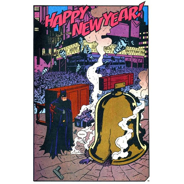 Start the year off right.  Read some classics, read some New 52s, get into some weird crossover action, catch up on old collections or find a new jumping point.  Grab the massive New Year sale on Amazon/Comixology across #DC, #Marvel, #DarkHorse, #Boom, #Image, #IDW with comics starting from Rs. 100 onwards.  #ComicHistory The oft-shared Batman-Commissioner Gordon moment of poignancy over a drink on NYE is from the '95 Holiday Special of Batman Adventures, including 4 stories featuring Batgirl splooging Clayface, Harley and Poison Ivy going on a shopping spree with Batman's money, Mr. Freeze icing Gotham, and Batman bringing the Joker into custody ... with a bang.