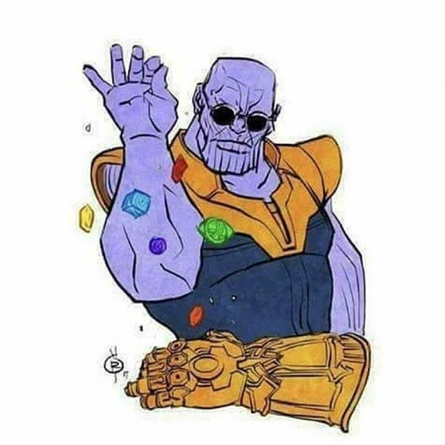 #thanos be like... @aggressivecomix #SaltThay #repost