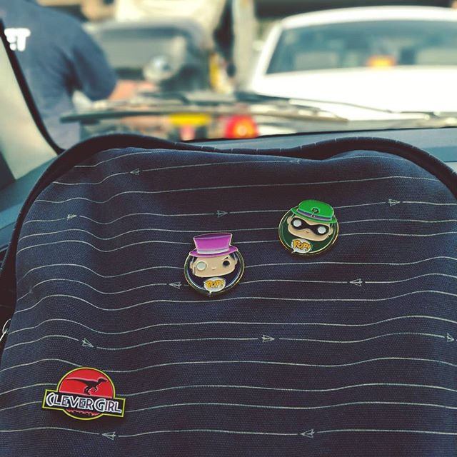Bad Guys in Enamel.  #funkopop #pins