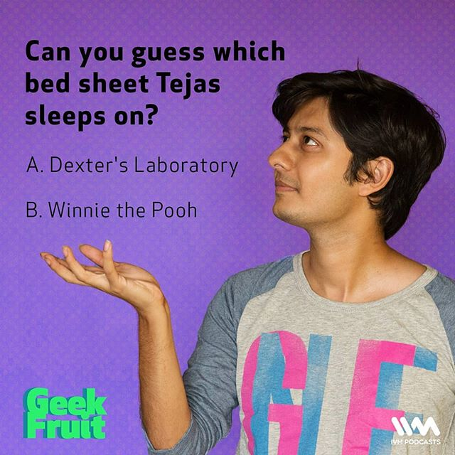 Heard our latest episode? Then you'd know the answer to this random fun-fact about @tejasmenon1989 😄  If you haven't, tune into the third part in our #WhatACartoonEpisode series, where this bit of trivia is unveiled: https://ivm.today/2ECh6kB