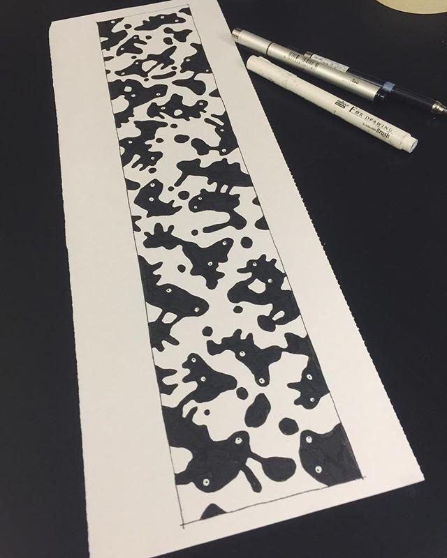 Friendly bacteria. Next murale design for @vondermarti #illustration #murale #streetart #wip #hk