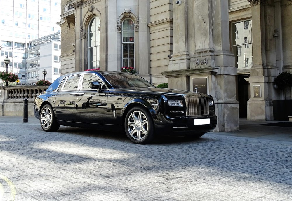 Rolls-Royce Phantom - Chauffeur-driven car hire - Cobham, Surrey