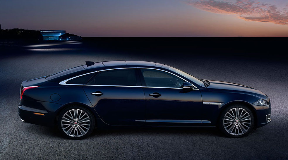 Jaguar XJL LWB - Chauffeur-driven car hire - Cobham, Surrey