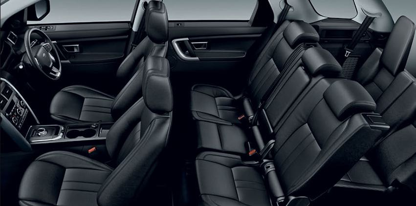 Substantial legroom similar to a Range Rover  -