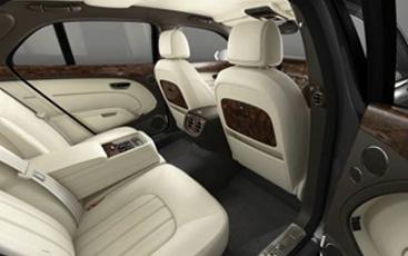 Plush and spacious interior -