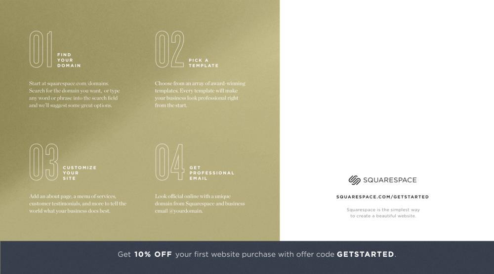 Squarespace Small Business Postcards — Wynne Renz