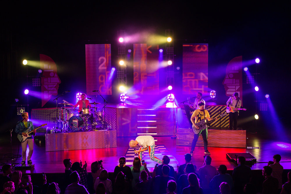 Neon Trees  Pop Psychology Tour - Ryman Auditorium Nashville, TN  May 12, 2014