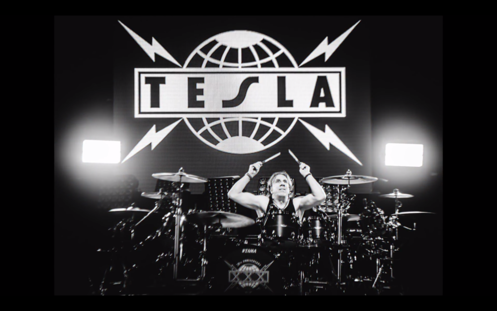 "TESLA - 30 Years of Kickin' Ass Summer/Fall Tour 2017  LD: Ignacio ""Iggy"" Rosenberg  Photo by: Unknown"