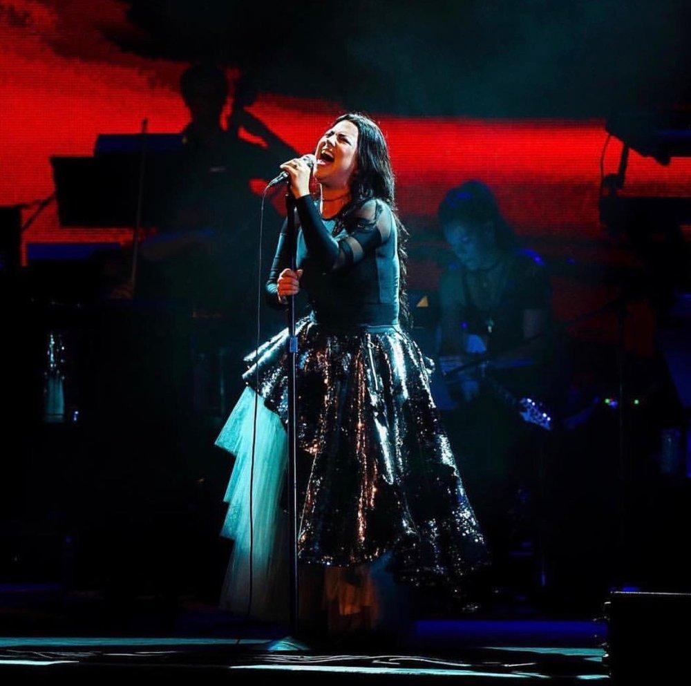 Evanescence - Synthesis Tour 2018  LD: Dan Hardiman  Photo by: EVTod