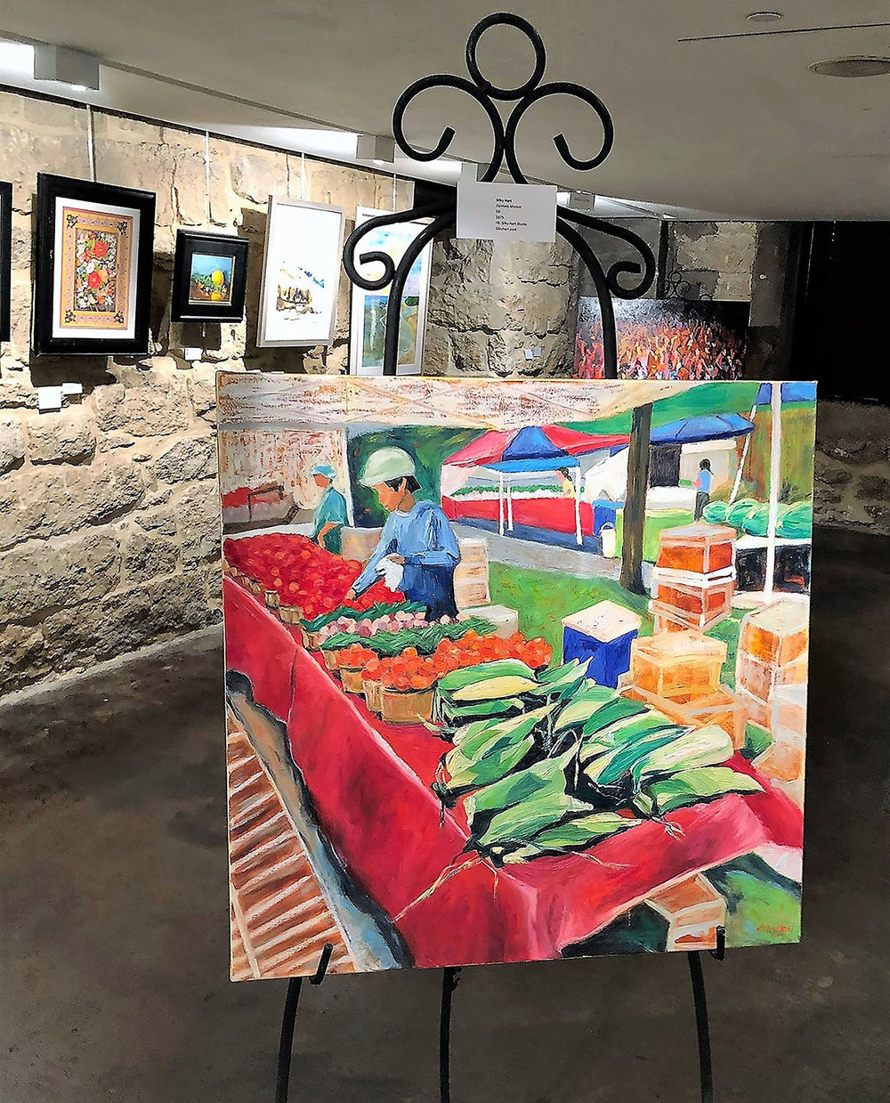 Farmers Market  on View at the McKinney Performing Arts Center