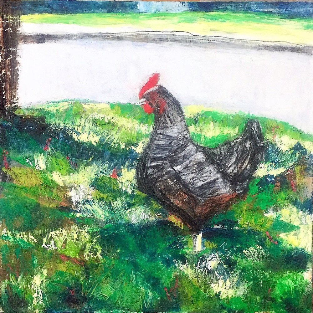 Chicken in My Yard