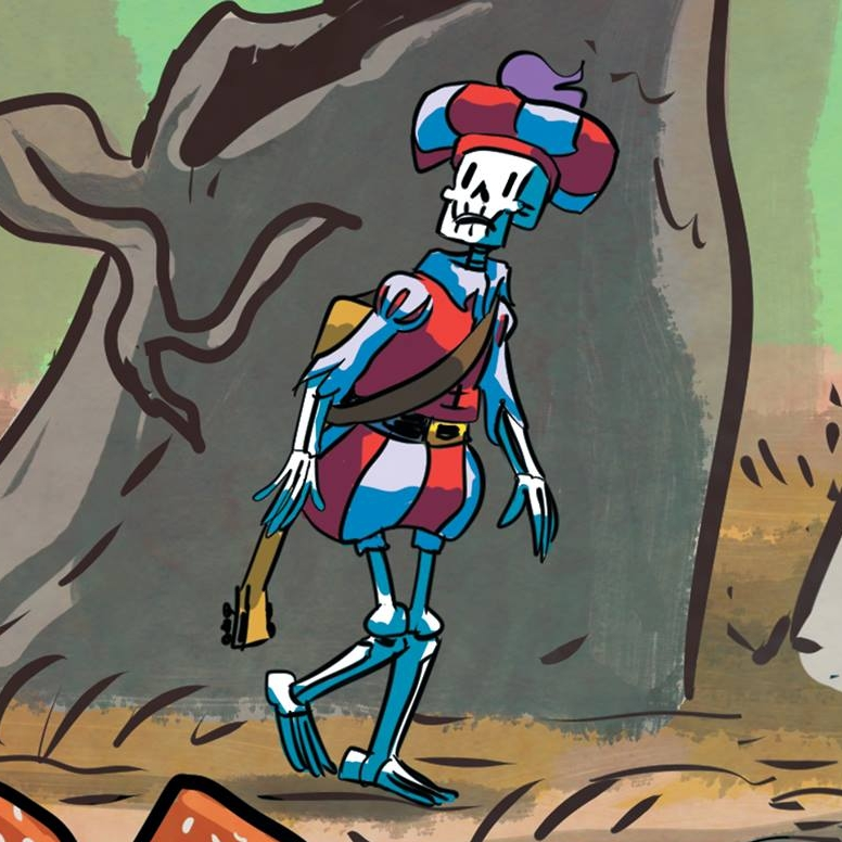 Skeleton Bard | Rickety Stitch