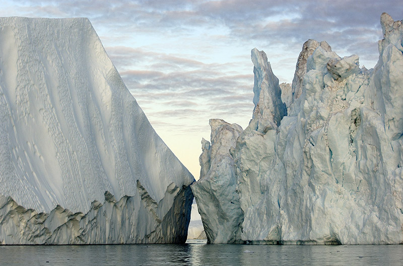 """Ilulissat Isfjord, Greenland."" Photograph by James Balog"