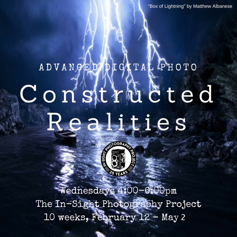Advanced Digital Photo: Constructed Realities  Wednesdays 4-6 pm Instructor: Zachary P. Stephens