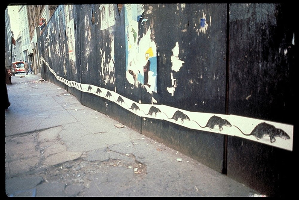 Christy Rupp. Rat Patrol, 1979. Courtesy of the artist