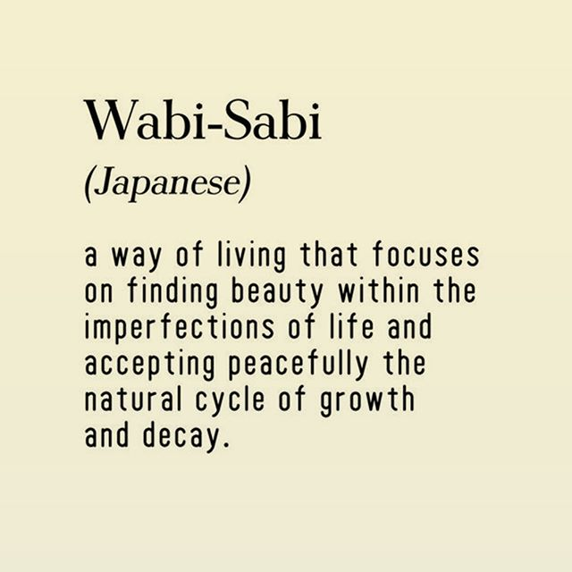 Wabi-Sabi is a concept derived from the Buddhist teaching of the three marks of existence: impermanence, suffering and emptiness or absence of self-nature. It teaches us to embrace imperfections and find the ultimate beauty in them. . . . #HRetreats #dailyinspiration #motivation #inspiration #positive #buddhist #buda #positivelife #positivemind #positivethinking #staypositive #spreadlove #positivevibes #happiness #holistic #wellness #spiritual #spirituality #mindfulness #spiritualjourney #retreats #happiness #love #WabiSabi