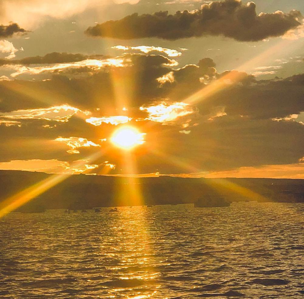 """Susan Q Byrd: """"Lake Powell G;len canyong dam Az"""""""