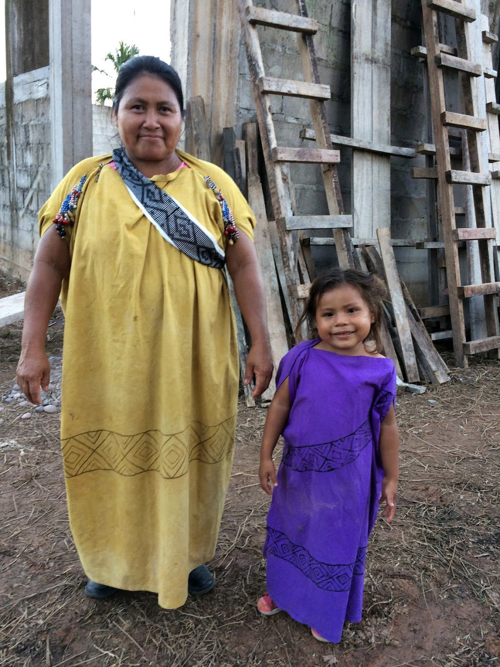 Villa America Centro Yanesha Woman and Child Junín, Perú (Lily Garcia, NEBC 2017 Team Member)