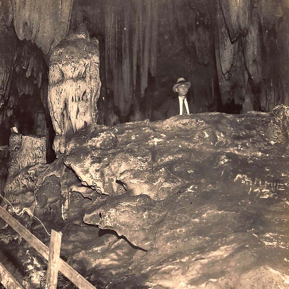 Prohibition man in the caverns