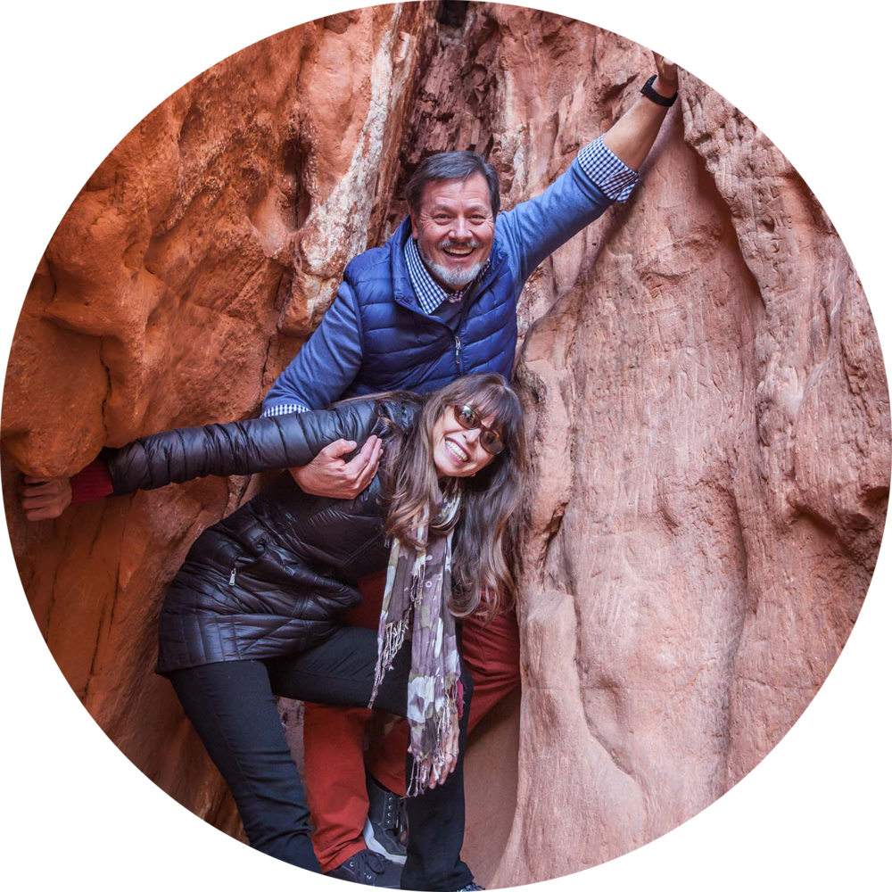 Allen and Danielle Mathis, the current owners of DeSoto Caverns