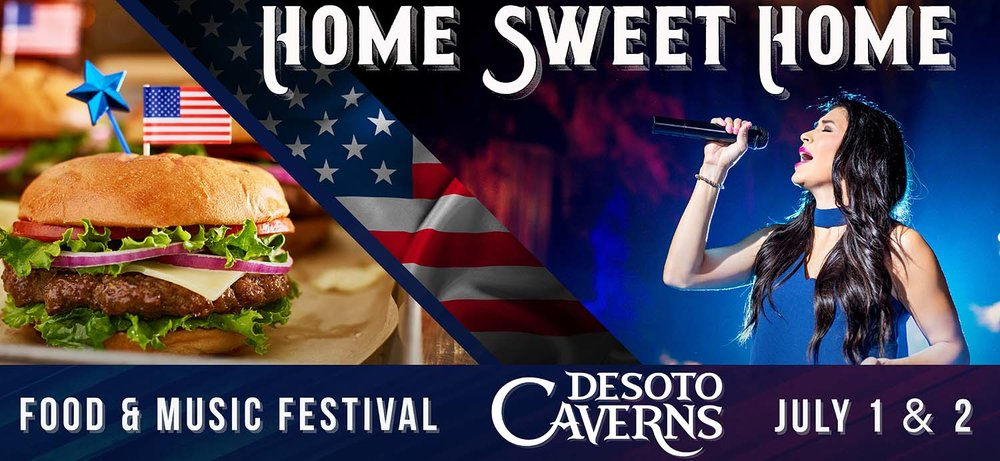 Home Sweet Home, a Food and Music Festival at DeSoto Caverns